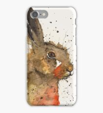 Country Hare Cushion iPhone Case/Skin