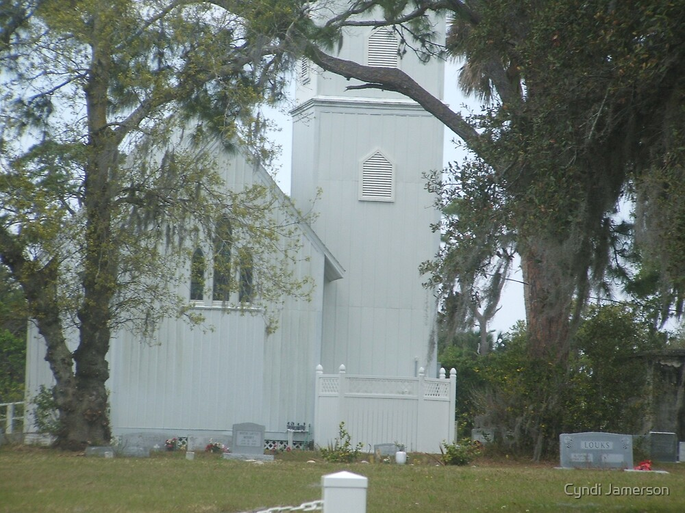 old rural church by Cyndi Jamerson