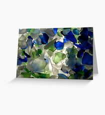 Musical Play of Glass Greeting Card
