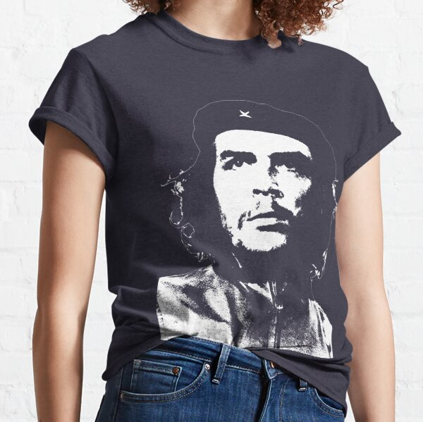 Ladies Fitted Che Guevara T-shirt freedom Revolution Cuba colour Sizes 6 to 24