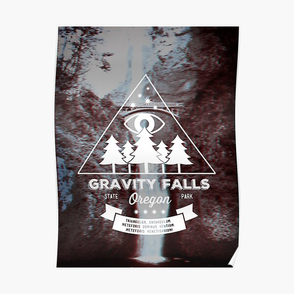 Visit Gravity Falls, Oregon! Poster