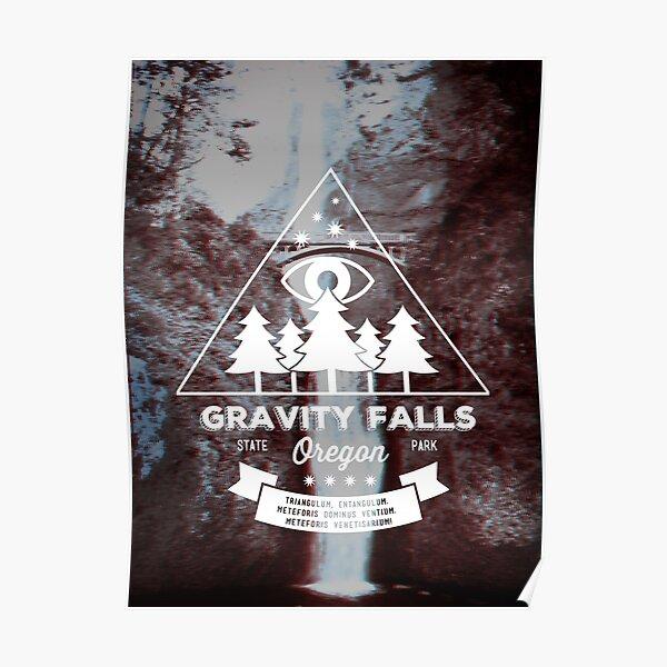 Visita Gravity Falls, Oregon. Póster