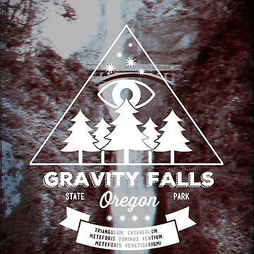 Besuchen Sie Gravity Falls, Oregon! von baselinegraphix