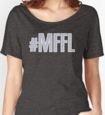 MAVS FAN FOR LIFE Women's Relaxed Fit T-Shirt