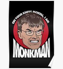 Eric Monkman - God amongst men Poster