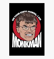 Eric Monkman - God amongst men Photographic Print