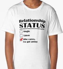 Relationship Status Anime Long T-Shirt