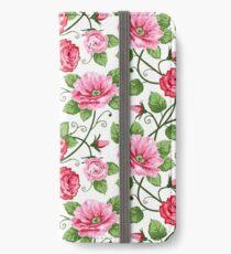 Floral Textile Art - 16 iPhone Wallet/Case/Skin