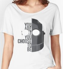 Wise Choice is necessary Women's Relaxed Fit T-Shirt