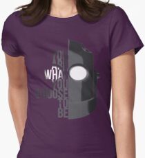 Wise Choice is necessary Womens Fitted T-Shirt