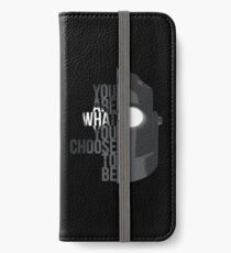 Wise Choice is necessary iPhone Wallet/Case/Skin