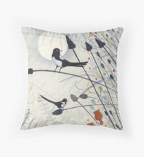 Two for Joy Throw Pillow