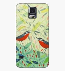 Nuthatches Case/Skin for Samsung Galaxy