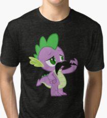 Mustache Spike Tri-blend T-Shirt