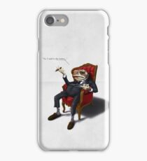 Fly in my soup! iPhone Case/Skin