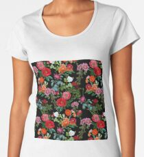 Botanical Pattern Women's Premium T-Shirt