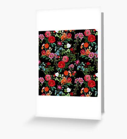 Botanical Pattern Greeting Card