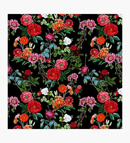 Botanical Pattern Photographic Print