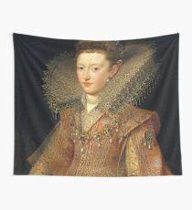 Portrait of an Elizabethan Dutch Princess Wall Tapestry