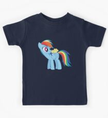 "Rainbow Dash - ""Chicks"" Textless ver. Kids Clothes"