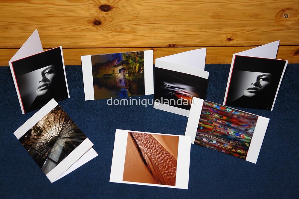 My cards by dominiquelandau