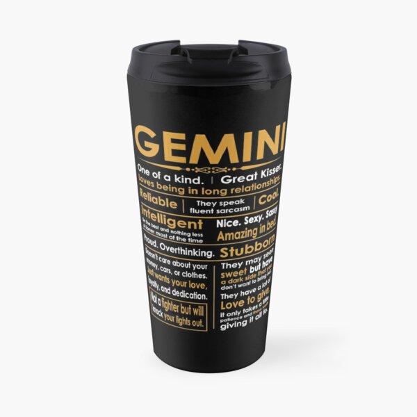 Funny Gemini Zodiac Sign Shirt Travel Mug