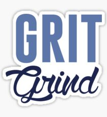 GRIT AND GRIND GRIZZLIES Sticker
