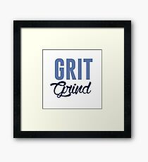 GRIT AND GRIND GRIZZLIES Framed Print