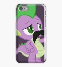 Mustache Spike iPhone Case/Skin