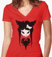 Kranium Women's Fitted V-Neck T-Shirt