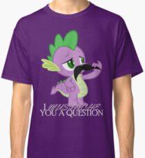 Spike's Mustache Question (US Version) Classic T-Shirt