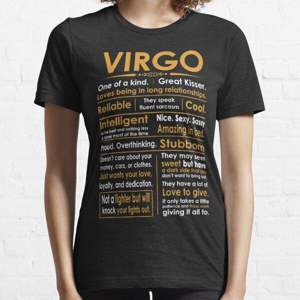Funny Virgo Zodiac Sign Shirt Essential T-Shirt