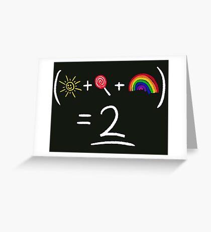 Equestrian Math Greeting Card