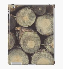 Chopped logs iPad Case/Skin