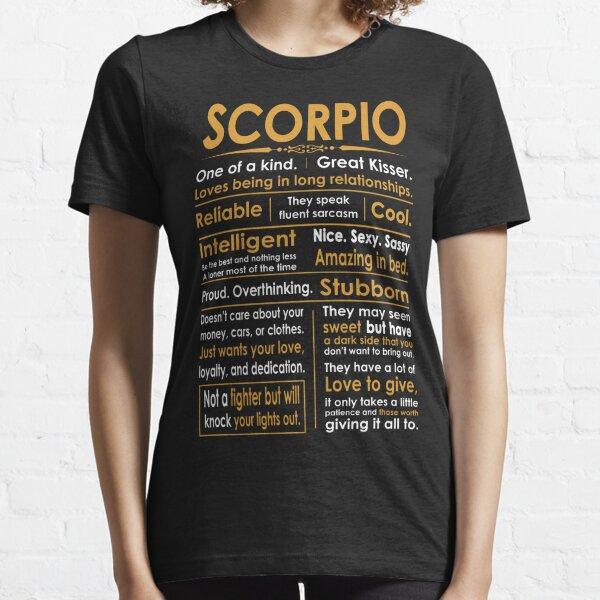 Funny Scorpio Zodiac Sign Shirt Essential T-Shirt