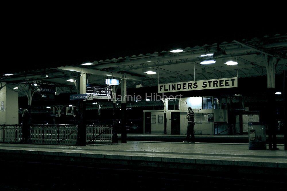 """I'm at Flinders Street"" by Marnie Hibbert"