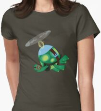 Tank: The Tortoise (Helicopter) Women's Fitted T-Shirt