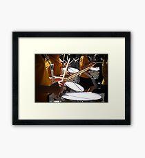 Drummer Children Framed Print