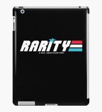 Rarity: A Real Equestrian Pony (Borderless Version) iPad Case/Skin