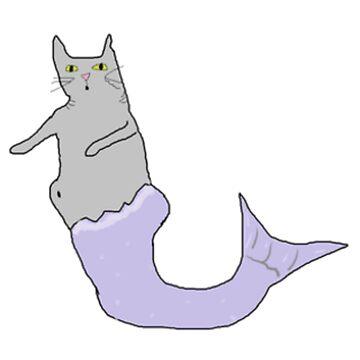 Mer-cat by ursafish