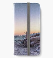 """""""Reed Making in the Marshes"""" iPhone Wallet"""