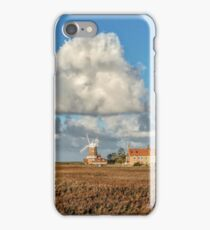 """""""Cley Windmill on a Sunny Day"""" iPhone Case/Skin"""