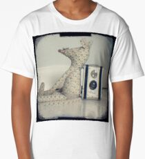 Mouse and camera Long T-Shirt