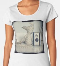 Mouse and camera Women's Premium T-Shirt