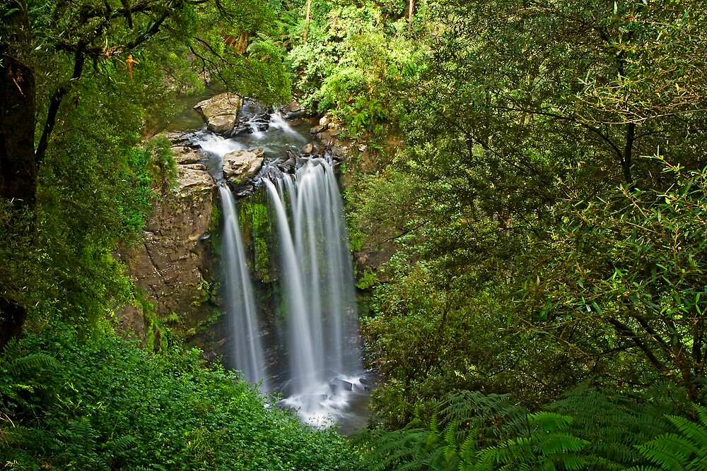 Hopetoun Falls, birds eye view by Andrew Klym