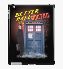 Call the doctor iPad Case/Skin