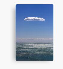 clouds about atlantic ocean Canvas Print