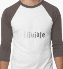 Obliviate Men's Baseball ¾ T-Shirt