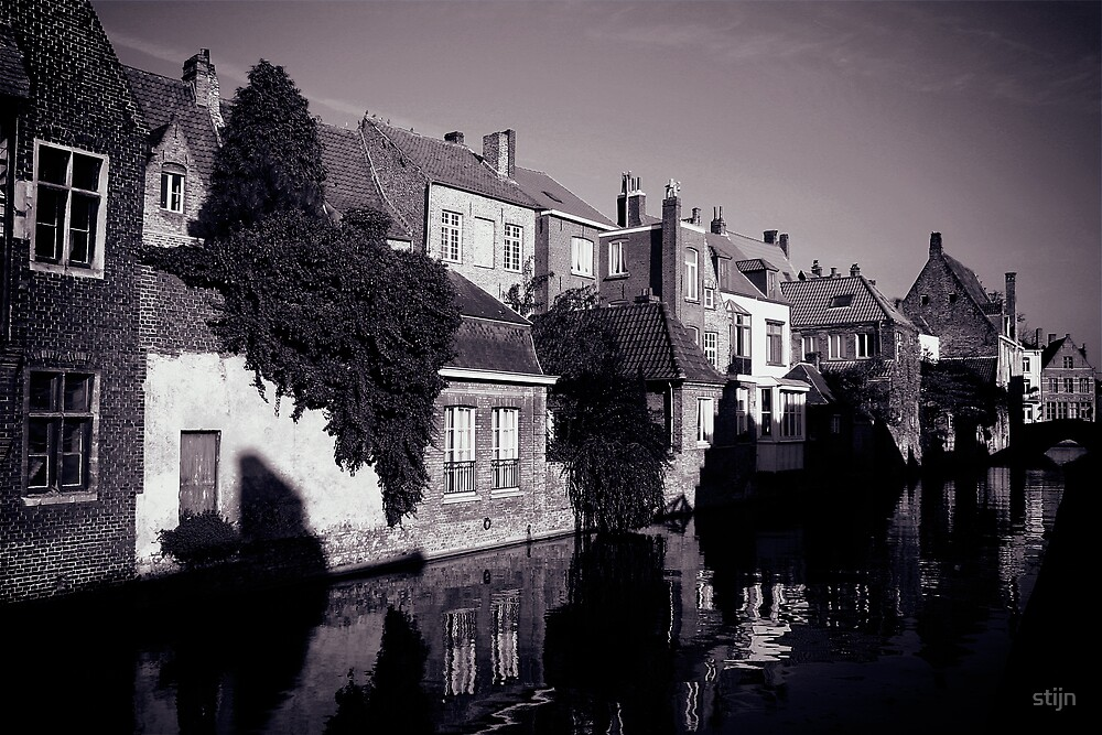 November light in bruges by stijn