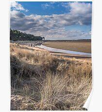 """Holkham Coast Path"" Poster"
